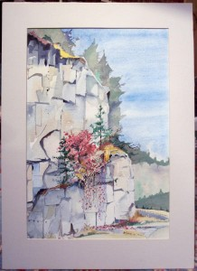 Marshall Watercolor Matting