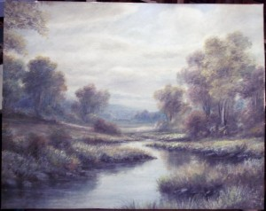 Unknown Pastel Landscape 1